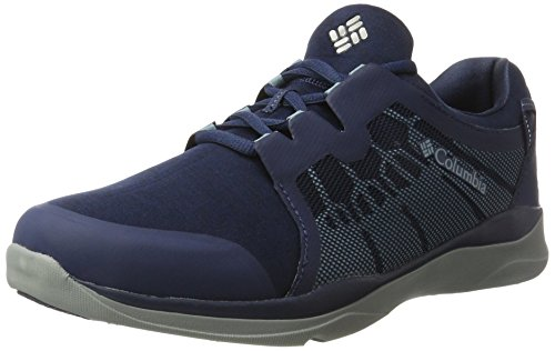 Image of Columbia Men's ATS Trail LF92 Outdry Hiking Shoe, Collegiate Navy, Storm, 9 D US