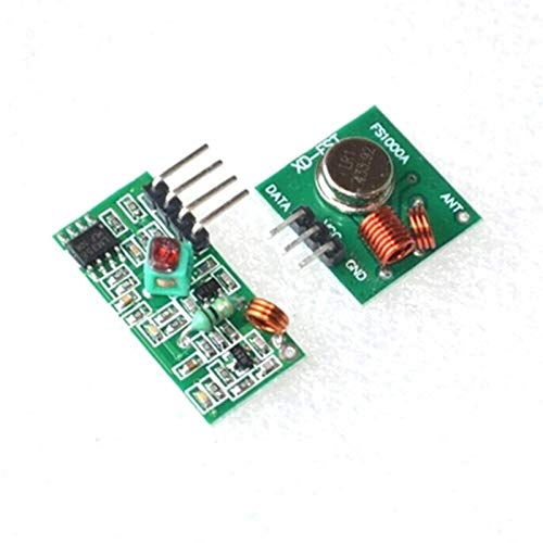 (1pcs 433Mhz RF transmitter and receiver kit Project)