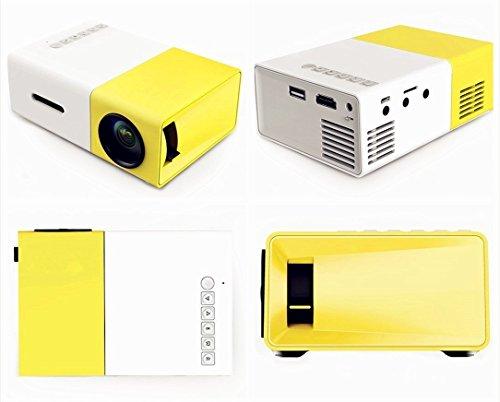 Portable mini lcd projectors multimedia 1080p led pico for Mini usb projector for mobile