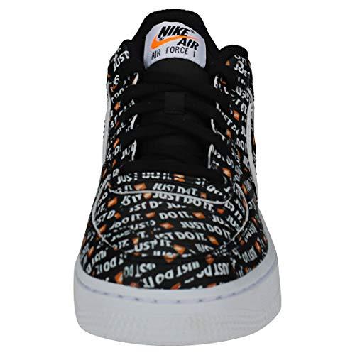 Multicolore Hommes S noir Prm 001 Total Orange blanc Jdi Fitness Chaussures 1 Air De gs Nike Force BqxPqd