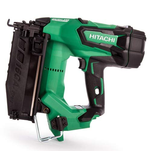 Hitachi /& HiKOKI NT1865DBSL//W4 16GA Brushless Straight Finish Nailer Body Only