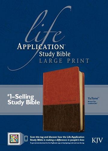 Life Application Study Bible KJV, Large Print, TuTone ebook