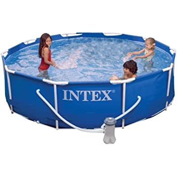 intex metal frame pool set 10 feet x 30 inch - Intex Pools