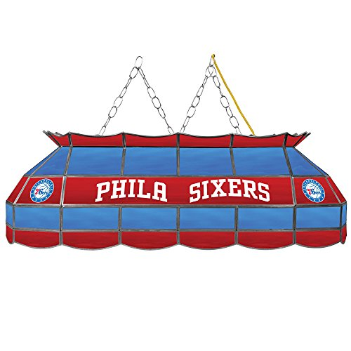 NBA Philadelphia 76ers Tiffany Gameroom Lamp, 40'' by Trademark Gameroom