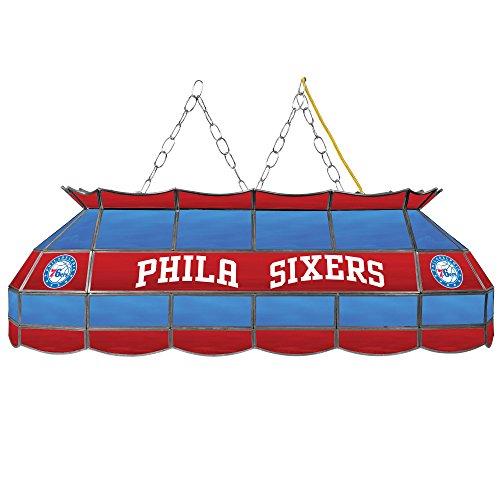NBA Philadelphia 76ers Tiffany Gameroom Lamp, 40'' by Trademark Gameroom