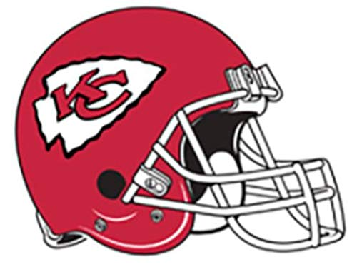 FATHEAD Kansas City Chiefs Graphic Team Helmet Logo Official NFL Vinyl Wall Graphic 13