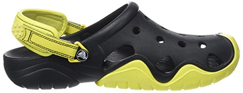 Herren Clog tennis Ball Green Swiftwater Men crocs Schwarz Black SZzwCqZ