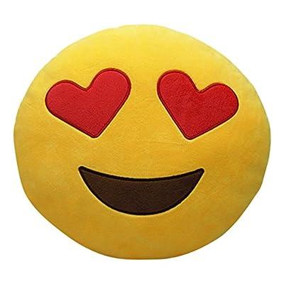 BIGOCT Number Pillows, Yellow: Home & Kitchen