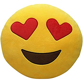 85 off bigoct cute emoji pillows flykiss plush toys throw pillows 11 x 11 inch. Black Bedroom Furniture Sets. Home Design Ideas