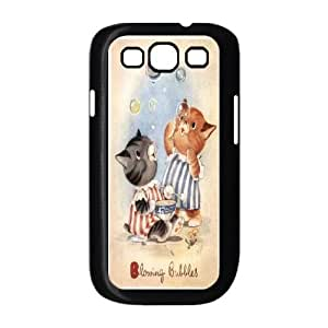 LTTcase Custom blowing bubbles Case for samsung galaxy s3 i9300