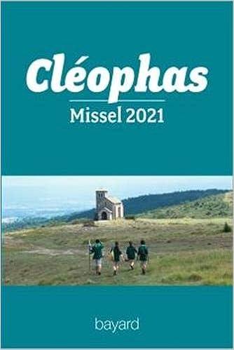 Book's Cover of Cléophas - missel 2021 des jeunes (Français) Broché – 9 septembre 2020