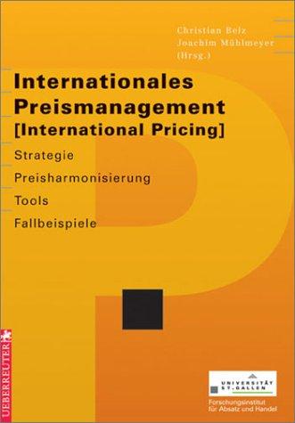 Internationales Preismanagement; International Pricing