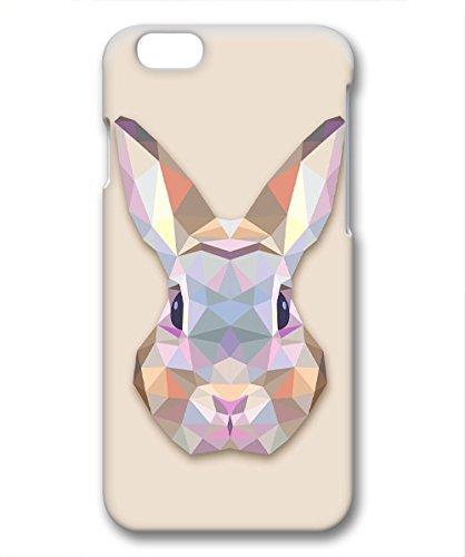 amazon com iphone 6 plus case, hot sale triangles rabbit plastic