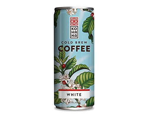 Kohana Coffee Cold Brew Coffee, Island Latte, 8 Ounce (Pack of 12)