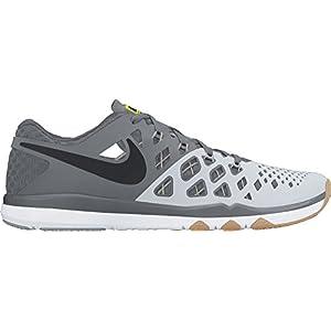 NIKE Men's Train Speed 4 Training Shoe Pure Platinum/Black/Cool Grey Size 10 M US