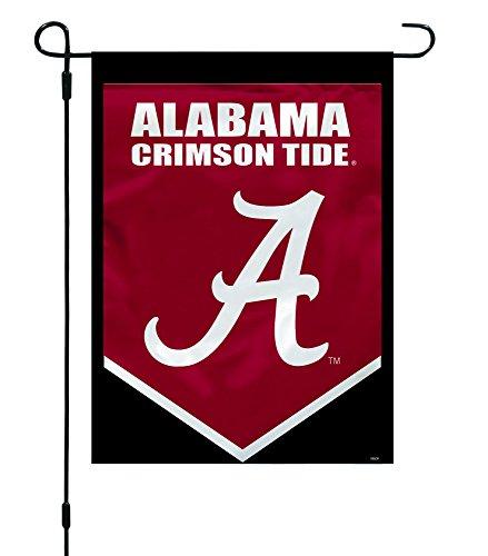 Alabama Crimson Tide Antenna - NCAA Alabama Crimson Tide Garden Flag, 12