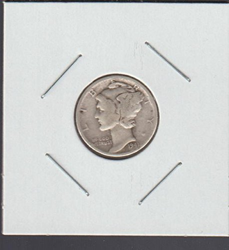 1941 Liberty Head Dime Choice Fine - Quarter 1941 Liberty