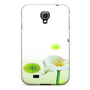 High-end Case Cover Protector For Galaxy S4(nice Flowers)