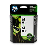 HP 61 | 2 Ink Cartridges | Black | CH561WN: more info