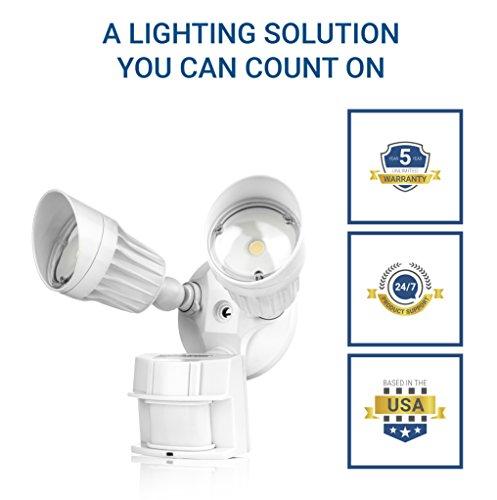 Hyperikon Led Security Light With Motion Sensor 20w 100