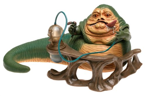 Star Wars Jabba the Hutt Deluxe Figure ()
