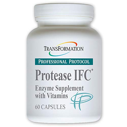 Transformation Enzyme - Protease IFC 60 Caps - #1 Practitioner Recommended - Natural Support for Muscle Pain and Fatigue, and Healthy Inflammation,