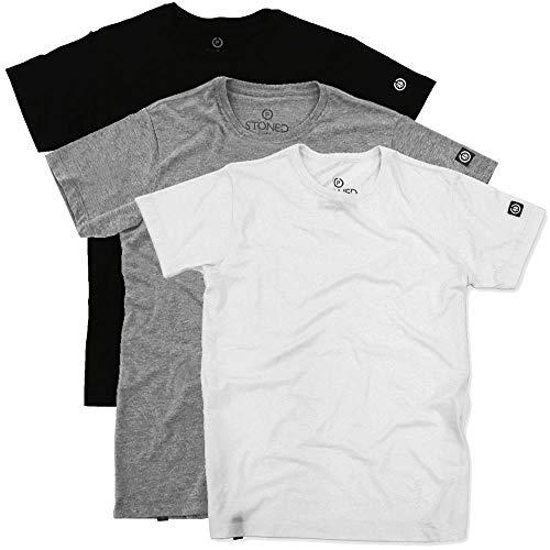 Kit Camisetas Colors lisas Tamanho