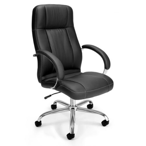 OFM Stimulus Series Leatherette Executive Chair - High-Back Synthetic Leather Office Chair (516-LX-T)