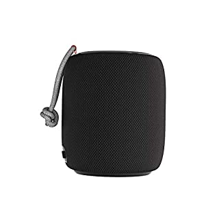 Bluetooth Speaker, Monster S110 Portable Bluetooth Speaker 5.0 with TWS Pairing for 360° Louder Stereo Sound, Built-in Mic for Phone Calls, Portable Wireless Speaker for Home or Indoor Use, Black