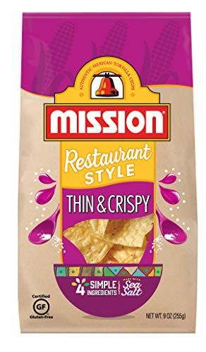 - Mission Thin & Crispy Tortilla Chips, 9 oz.