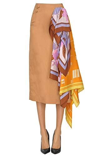 DRIES VAN NOTEN Luxury Fashion Womens Skirt Spring Bronze (Van Dries Skirt Noten)