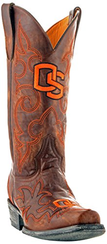 NCAA Oregon State Beavers Men's Gameday Boots, Brass, 13 D (M) US (Rain Boots State Oregon)