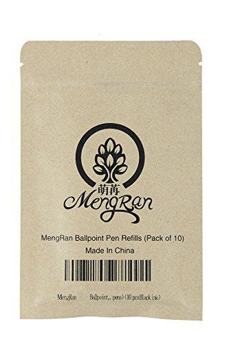 MengRan 11.5 cm(4.5 in) Ballpoint Pen Refills for New Style Diamond Crystal Pen Ink Pen Refills Photo #4