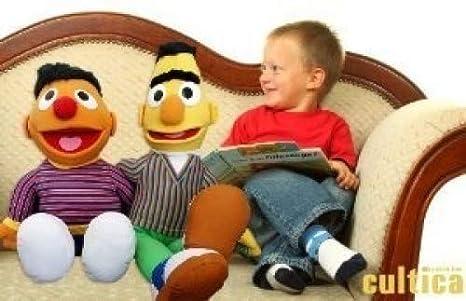 "769b2b07dd Original Sesamstraße XXL Figuren Sesamstraße Ernie und Bert ""Best  Friends Set"" enthält beide"