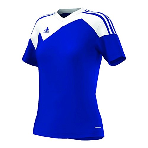 Adidas Toque 13 Womens Soccer Jersey M Bold Blue-White