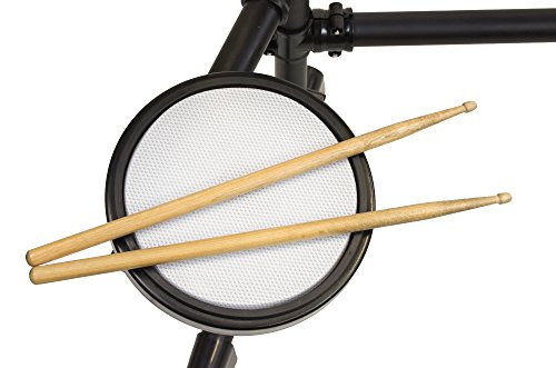 RockJam Mesh Head Kit, Eight Piece Electronic Drum Kit with Mesh Head, Easy Assemble Rack and Drum Module including 30 Kits, USB and Midi connectivity by RockJam (Image #7)