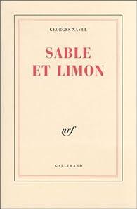 Sable et limon par Georges Navel