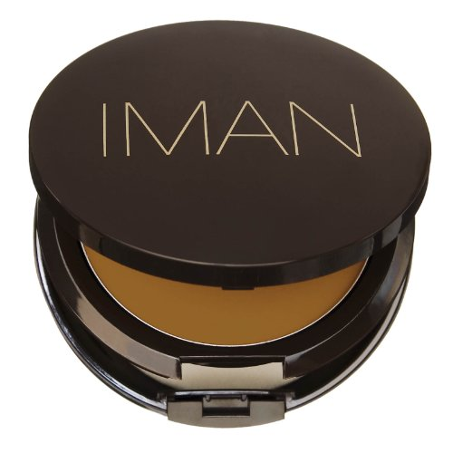 IMAN Second To None Cream To Powder Foundation, Medium Skin,
