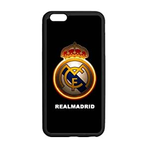 iPhone 6 Plus Case, [Real Madrid CF] iPhone 6 Plus (5.5) Case Custom Durable Case Cover for iPhone6 TPU case(Laser Technology)