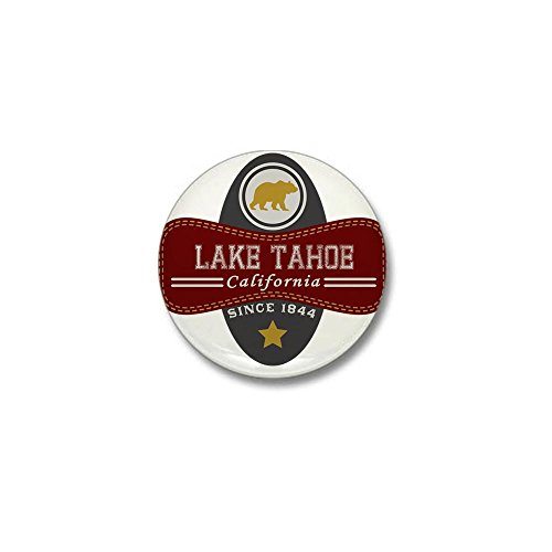 - CafePress Lake Tahoe Nature Marquis Mini Button 1