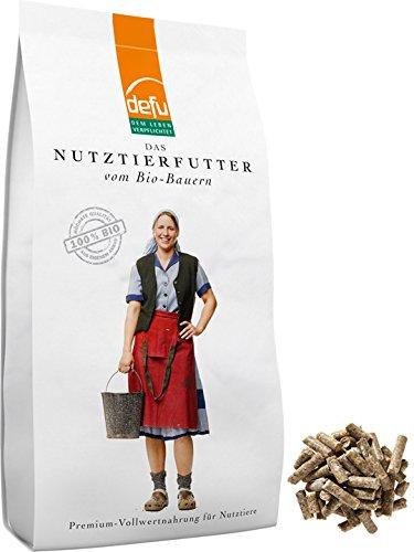 defu Schaffutter Bio und Ziegenfutter Bio - 14 kg - auch für Futterautomaten für Schafe geignet D. Felderzeugnisse GmbH
