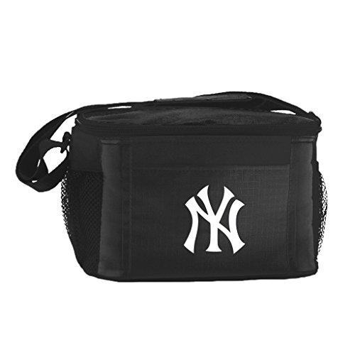 (New MLB Baseball 2014 Team Color Logo 6 Pack Lunch Bag Cooler - Pick Team (New York Yankees))