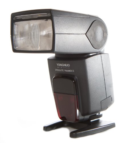Yongnuo YN568EX IIC-USA E-TTL Speedlite Flash with Master Wireless Control for Canon, GN58, High Speed Sync, US Warranty (Black)