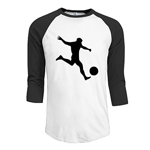 CAAK Fun Soccer Player 4 2016 Raglan Baseball T-Shirt