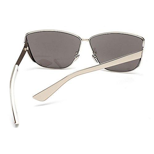 Marco Viajar Completo de al metálico Libre C2 Color Conducción Peggy Ojos de Color de Gato UV Gu C5 Lente Protección Sol Aire Gafas wtpvHxq5