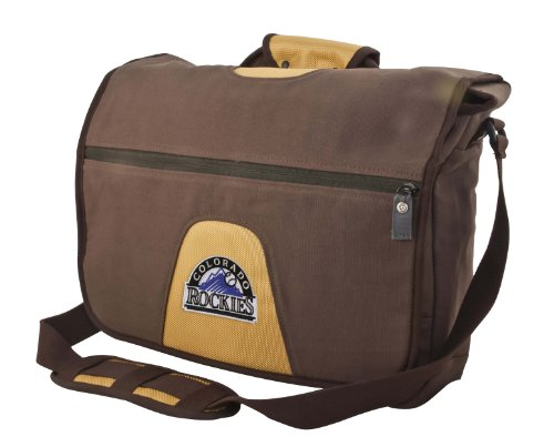 MLB On The Road Collection Colorado Rockiesmessenger Bag (Colorado Rockies Messenger Bag)