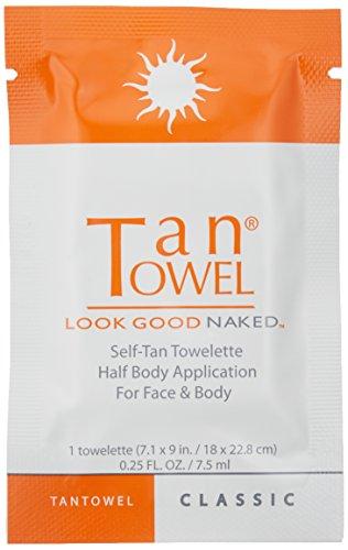 Tan Towel Self Tan Towelette Classic, 10 Count