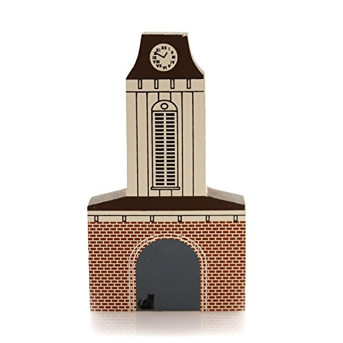 CATS MEOW VILLAGE Franklin Clock Tower Special Commission Franklin Nc Frank1