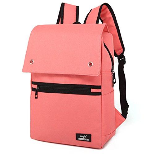 KYFW Beiläufiger Art-Segeltuch-Laptop-Rucksack-Schule-Beutel-Spielraum-Tagesbeutel-Handtasche,F-31*15*45cm-15-25L B-31*15*45cm-15-25L