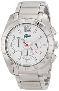 Lacoste 2010604 - Reloj de pulsera hombre, acero inoxidable, color plateado